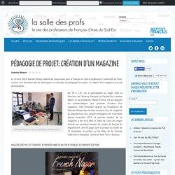 Pédagogie de projet: création d'un magazine
