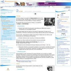 Le jazz - Page 2/3 - Pédagogie - Direction des services départementaux de l'éducation nationale du 16