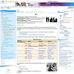 Le jazz- Pédagogie - Direction des services départementaux de l'éducation nationale du 16