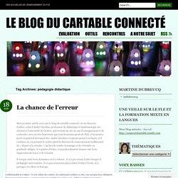 pédagogie didactique « Le blog du cartable connecté