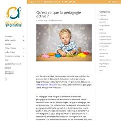 Qu'est ce que la pédagogie active ? - educationalternative.fr