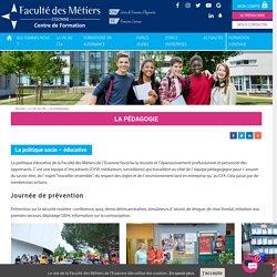 La pédagogie - Faculté des Métiers Essonne