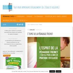 L'esprit de la pédagogie Freinet + 9 outils pour la mise en pratique en classe