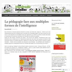 La pédagogie face aux multiples formes de l'intelligence
