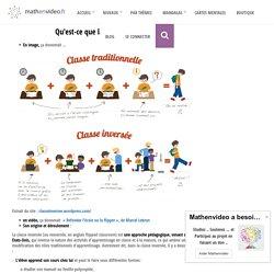 La pédagogie inversée – Bienvenue sur le site Math En Vidéo