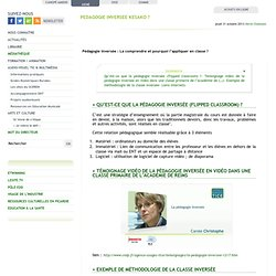 PEDAGOGIE INVERSEE KESAKO ? - CDDP - Aisne (02)