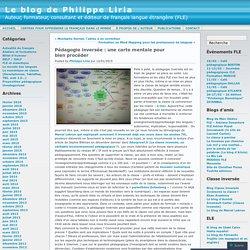 Pédagogie inversée : une carte mentale pour bien procéder « Le blog de Philippe Liria