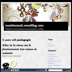 Bilan séance moteur de recherche - Marthe