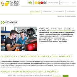 Pédagogie - Campus des métiers et de l'artisanat - Indre-et-Loire