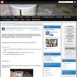 Pédagogie Montessori : le jeu de la tirelire (1)