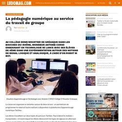 La pédagogie numérique au service du travail de groupe