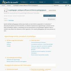 La pédagogie : pratiques efficaces et théories pédagogiques