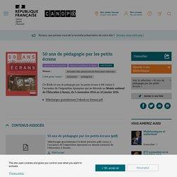 Ebook gratuit : 50 ans de pédagogie par le petit écran