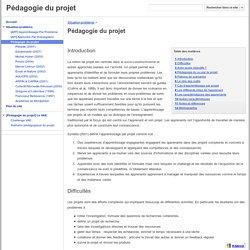 Pédagogie du projet - Pédagogie du projet