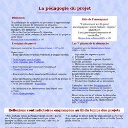 Pédagogie du projet