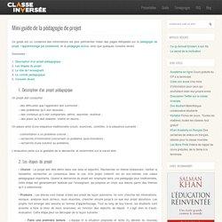 Mini guide de la pédagogie de projet