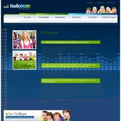 Pédagogie - radio-ecole.fr