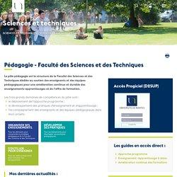 Pédagogie - Faculté des Sciences et des Techniques - UFR Sciences et techniques
