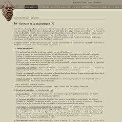 Socrate et la maïeutique