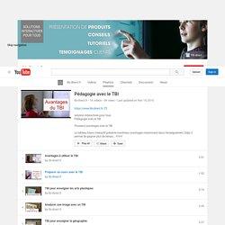 Pédagogie avec le TBI - YouTube