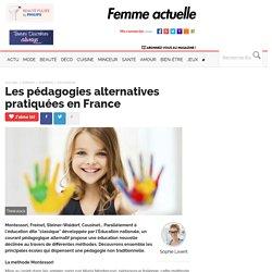 Les pédagogies alternatives pratiquées en France