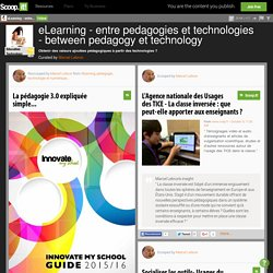 eLearning - entre pedagogie & technologie - between pedagogy & technology