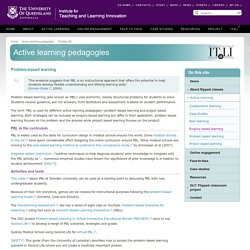 Active learning pedagogies - the University of Queensland, Australia