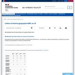 Portail pédagogique académique:Lettres-histoire-géographie-EMC en LP