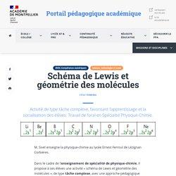 Schéma de Lewis et géométrie des molécules