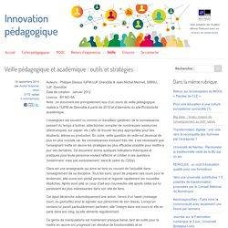 Veille pédagogique et académique : outils et stratégies