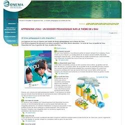 Apprenons l'eau : un dossier pédagogique sur le thème de l'eau > Actualités - Onema-Mozilla Firefox