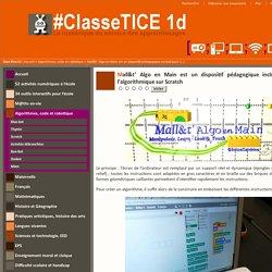 Mall&t' Algo en Main est un dispositif pédagogique inclusif pour apprendre l'algorithmique sur Scratch