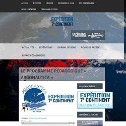 Le programme pédagogique « Argonautica »