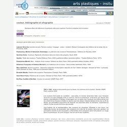 InSitu - couleur, bibliographie et sitographie
