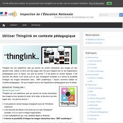 Utiliser Thinglink en contexte pédagogique