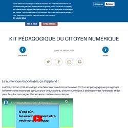 Kit pédagogique du citoyen numérique