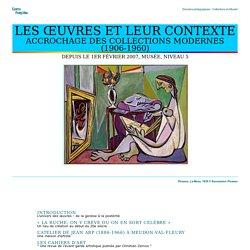 Centre Pompidou - Dossier pédagogique - Accrochage des collections modernes