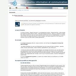 techniques usuelles information et communication - la classe inversée