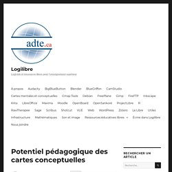 cartes conceptuelles potentiel pedagogiques