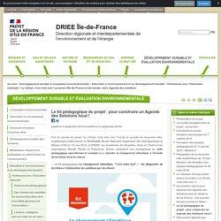Le kit pédagogique du projet : pour construire un Agenda des Solutions local ! - DRIEE Île-de-France