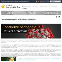 déc Continuité pédagogique : Dossier Coronavirus