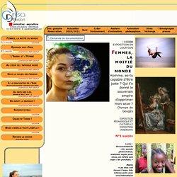 Exposition pédagogique Femmes, la moitié du monde - Créadiffusion