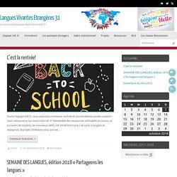 Langues Vivantes Etrangères 31 – Le site pedagogique départemental 31