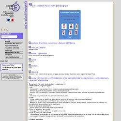 Scénario pédagogique - Direction des Services Départementaux de l'Éducation Nationale de la Marne
