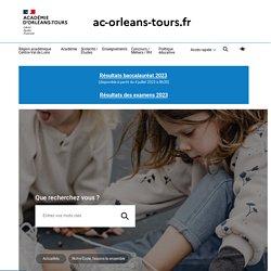 Kits de ressources thématiques Académie d'Orléans-Tours