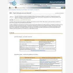 """Espace pédagogique : documentation - EMI : """"tout n'est pas vrai sur internet"""""""
