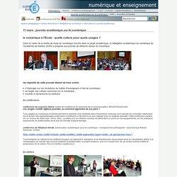 AC-NANTES - Journée académique sur le numérique