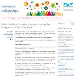 Un tour des sites de l'innovation pédagogique dans l'enseignement supérieur francophone - Innovation Pédagogique