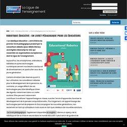 2020- Robotique éducative : un livret pédagogique pour les éducateurs
