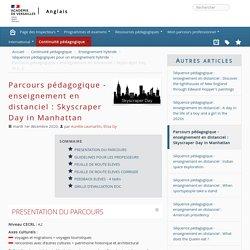 Parcours pédagogique - enseignement en distanciel : Skyscraper Day in Manhattan